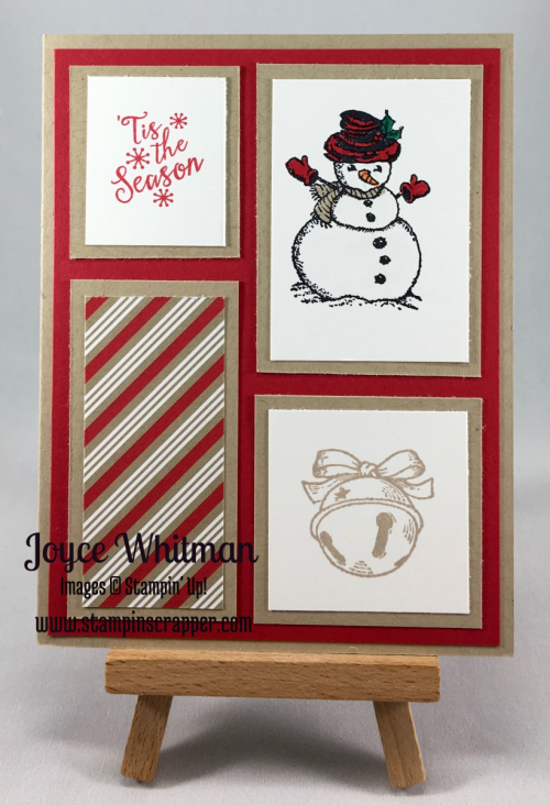 stampin up, Stampin' Up!, Christmas Magic, Peaceful Pines, Candy Cane Lane, snowman, Christmas