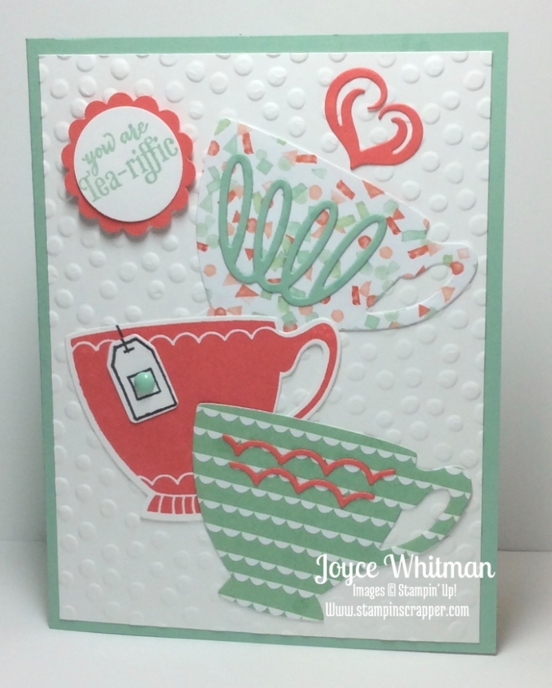 stampin up, Stampin' Up!, Nice Cuppa, created by Stampin Scrapper, for more ideas, cards, gifts, 3 D projects and scrapbooking go to stampinscrapper.com