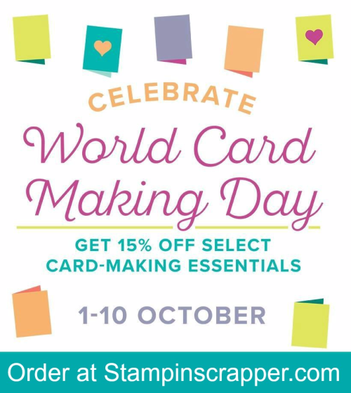 StampinUp,World Card Making Day Specials 2017, for more cards, gifts, ideas, scrapbooking and 3D projects go to StampinScrapper. com, JoyceWhitman