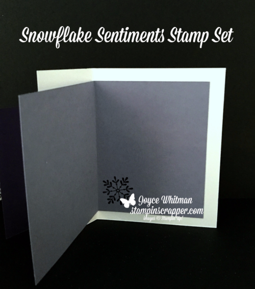 Stampin Up, Stampin' Up Colorful Seasons stamp set #143276, Snowflake Sentiments stamp set #144820, Foil Snowflakes #144642, Year of Cheer DSP #144640, Trim Your Stocking  Thinlits #144682, created by Stampin Scrapper, for more cards, gifts, ideas, scrapbooking and 3D projects, go to stampinscrapper.com, Joyce Whitman