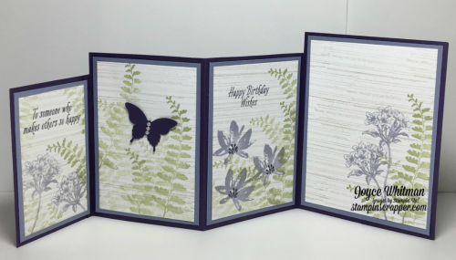 stampin up, Stampin' Up! Avant Garden stamp set #143272, Butterfly Basics stamp set #137154, Elegant Butterfly punch #127526, Bitty Butterfly punch #129406, Pearl Basic Jewels, designed by Stampin Scrapper, for more  cards, gifts, ideas, scrapbooking ad 3D projects go to Stampinscrapper.com, Joyce Whitman