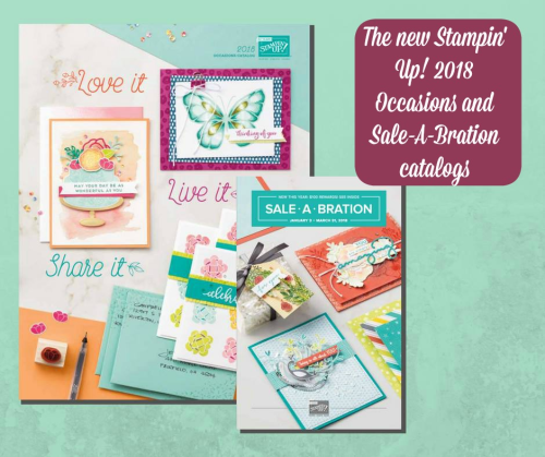 Stampin Up, Stampin' Up! Occasions and Sale-A-Bration 2018n Catalogs.  Stampin Scrapper, for more cards, gifts, ideas, scrapbooking or 3D projects go to stampinscrapper.com, Joyce Whitman