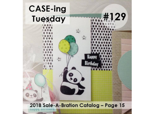 Stampin Up, Stampin' Up! Party Pandas #147221, 2018 Sale-A-Bration, created by Stampin Scrapper, for more cards, gifts, ideas, scrapbooking and 3D projects go to stampinscrapper.com, Joyce Whitman