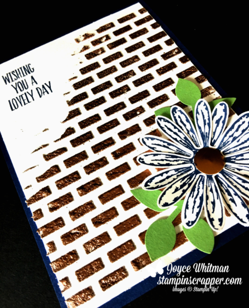Stampin Up, Stampin' Up! Daisy Delight stamp set #143669, Lovely Wishes stamp set #145924, Embossing Paste #141979, Emboss Powder #141636, Daisy Punch #143713, created by Stampin Scrapper, for more cards, gifts, ideas, scrapbooking and 3D projects go to stampinscrapper.com, Joyce Whitman