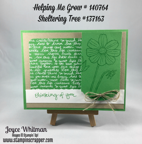 stampin up, Stampin' Up! Helping Me Grow, 2015-2017 Incolor Paper Stack, created by stampin Scrapper, for more card, scrapbooking and gift ideas go to stampinscrapper.com