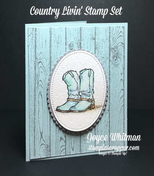 stampin up, Stampin' Up! Country Livin' stamp set #141925, Hardwood stamp set #133035, Layering Oval Framelits #141706, Stitched Shapes Framelits #145372, Designed by Stampin Scrapper, for more card, gifts, ideas, scrapbooking and 3D projects, go to stampinscrapper.com, Joyce Whitman