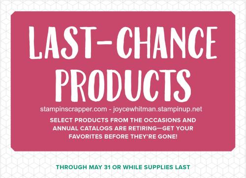 StampinUp2018LastChanceproductsStampinScrapperJoyceWhitman