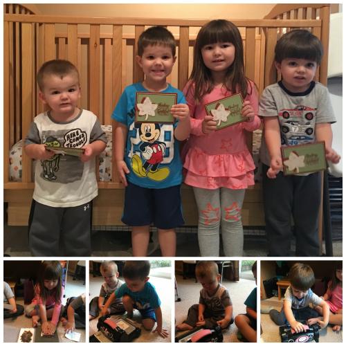 Daycare kids stampin