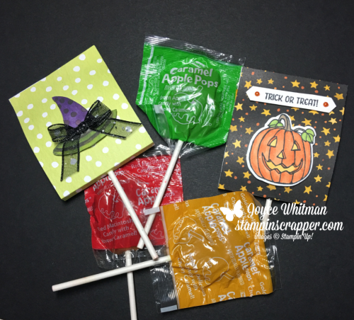 Stampin Up, Stampin' Up! Seasonal Chums stamp set #144948, Toil and Trouble designer series paper #147531, Stampin Blends, Classic Label Punch #141491, Fall Friday 2018 Week #5, created by Stampin Scrapper,  for more cards, gifts, ideas, scrapbooking and 3D projects go to stampinscrapper.com, Joyce Whitman