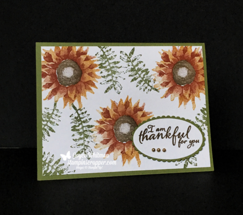 Stampin Up, Stampin' Up!  Painted Harvest stamp set #144783, Layering Oval Framelits #141706, Stitched Shapes Framelits #145372, created by Stampin Scrapper, for more cards, gifts, ideas, scrapbooking and 3D projects go to stampinscrapper.com, Joyce Whitman