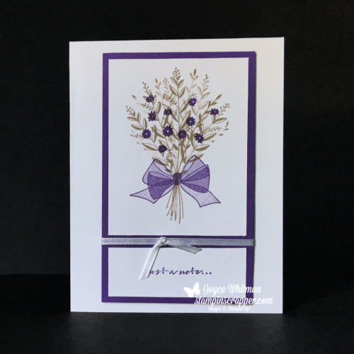 Stampin Up, Stampin' Up! Wishing You Well stamp set #147864, created by Stampin Scrapper, for more cards, gifts, ideas, scrapbooking and 3D projects go to stampinscrapper.com, Joyce Whitman